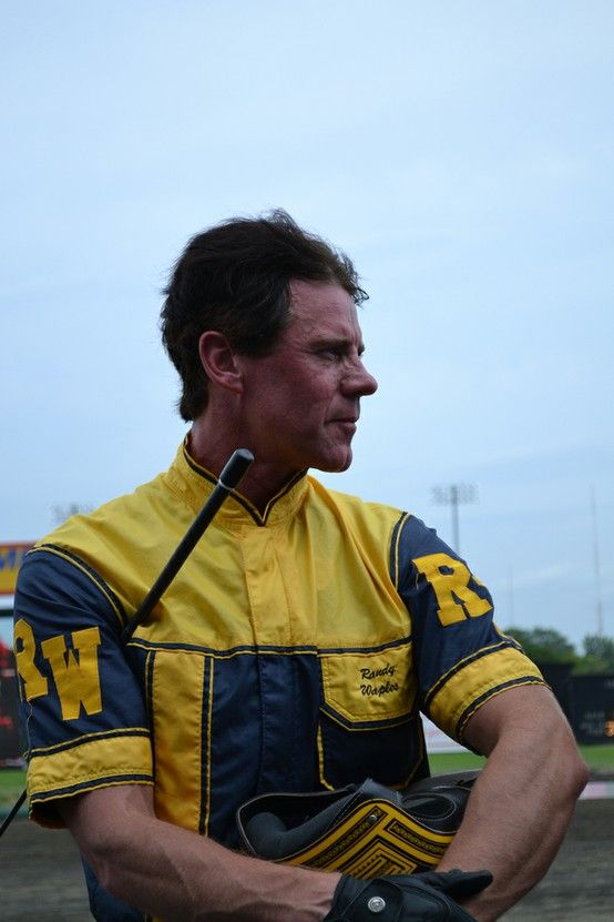 Randy Waples at the Meadowlands in 2011 Harness racing