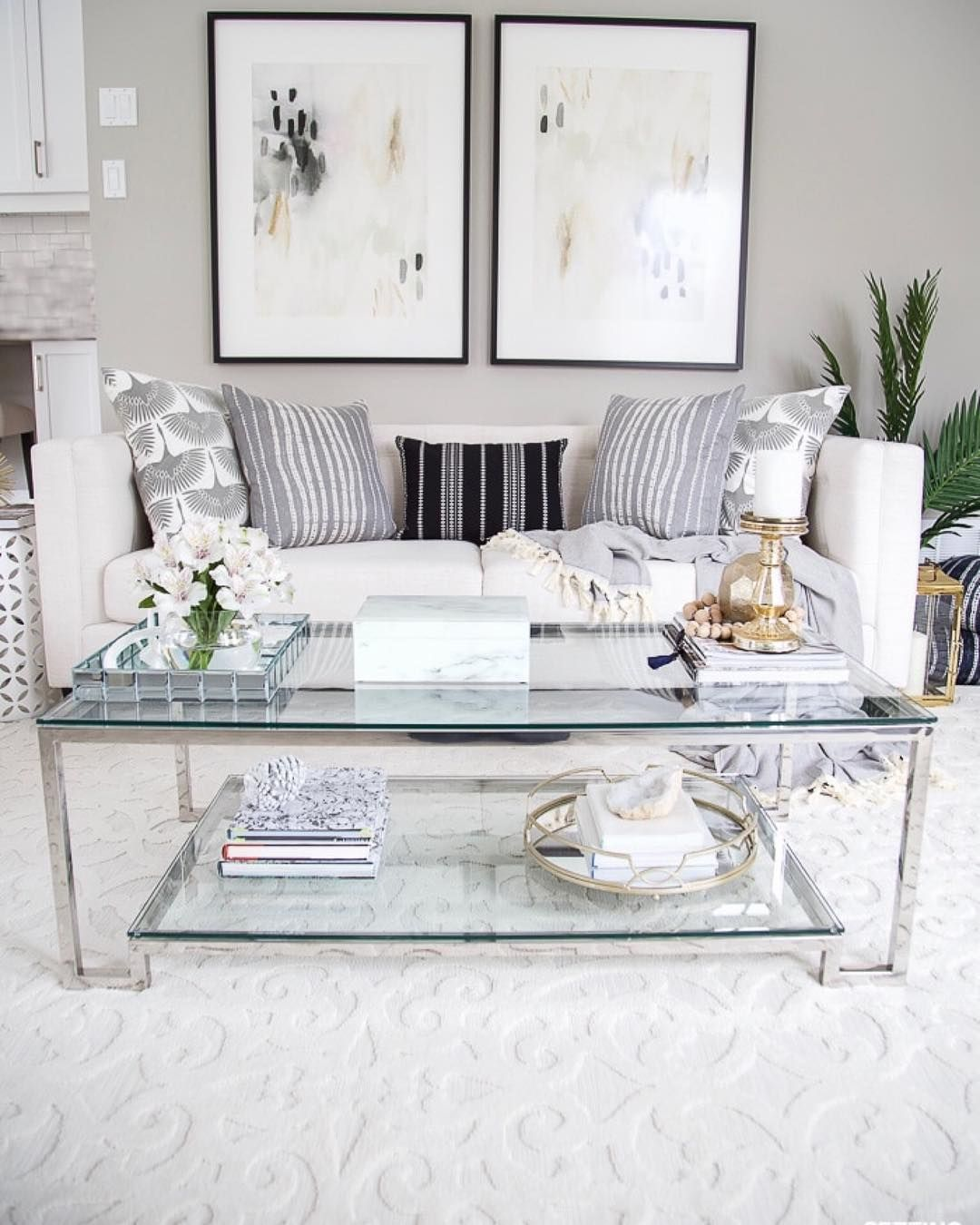 37 White And Silver Living Room Ideas That Will Inspire You Wall Decor Bedroom Wall Decor Living Room Living Room Makeover #silver #living #room #wall #decor