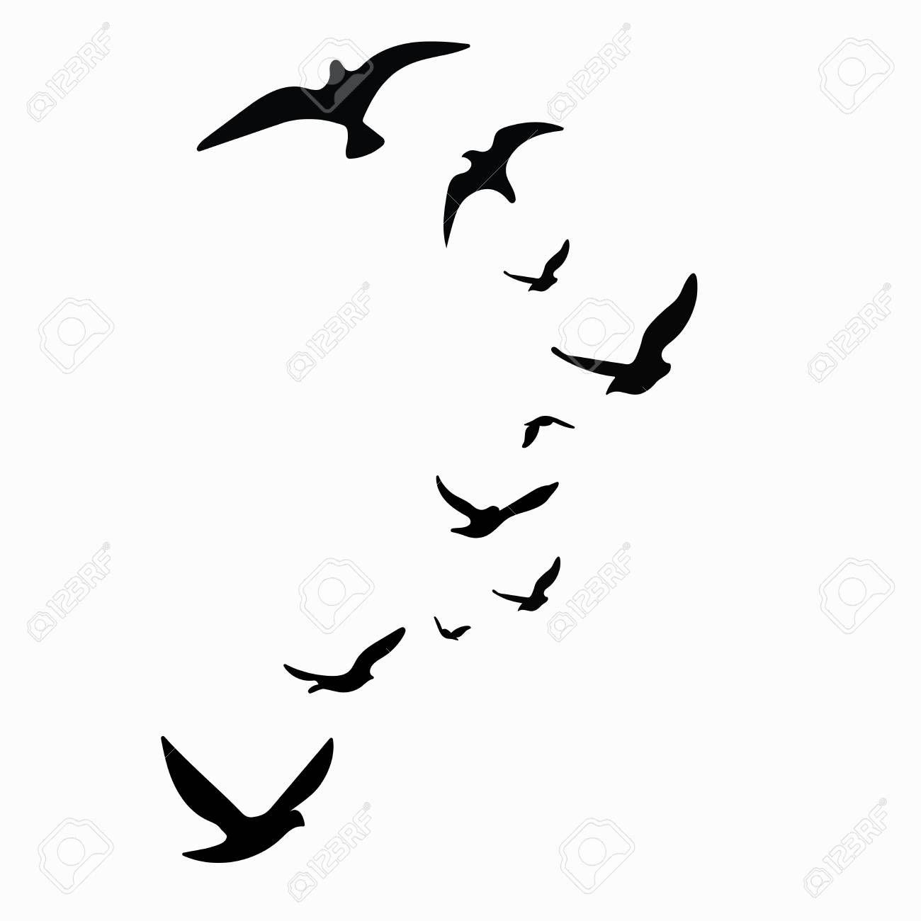 13++ Flying bird clipart black ideas in 2021