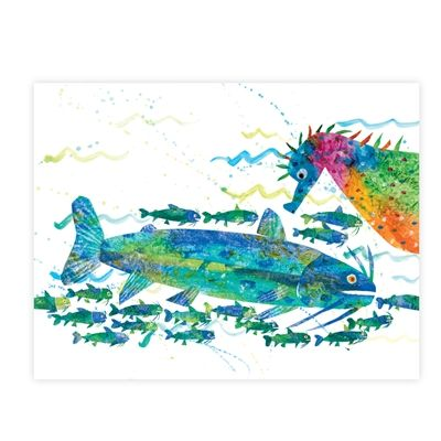 The world of eric carle wall graphics from walls 360 for Eric carle mural