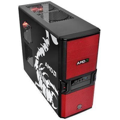 Thermaltake V3 Black AMD Edition VL800P1W2N No Power Supply ATX Mid Tower (Black)