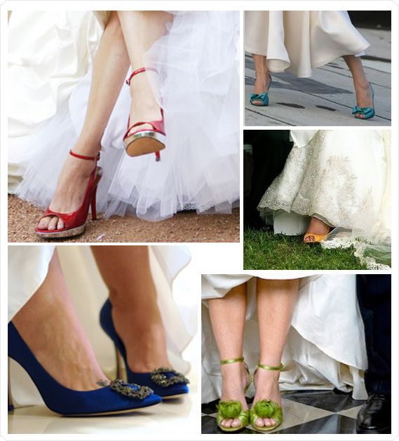 Adding A Punch Of Color To Your Wedding My Wedding Reception Ideas Blog Coloured Wedding Shoes Colorful Wedding Shoes Blue Wedding Shoes