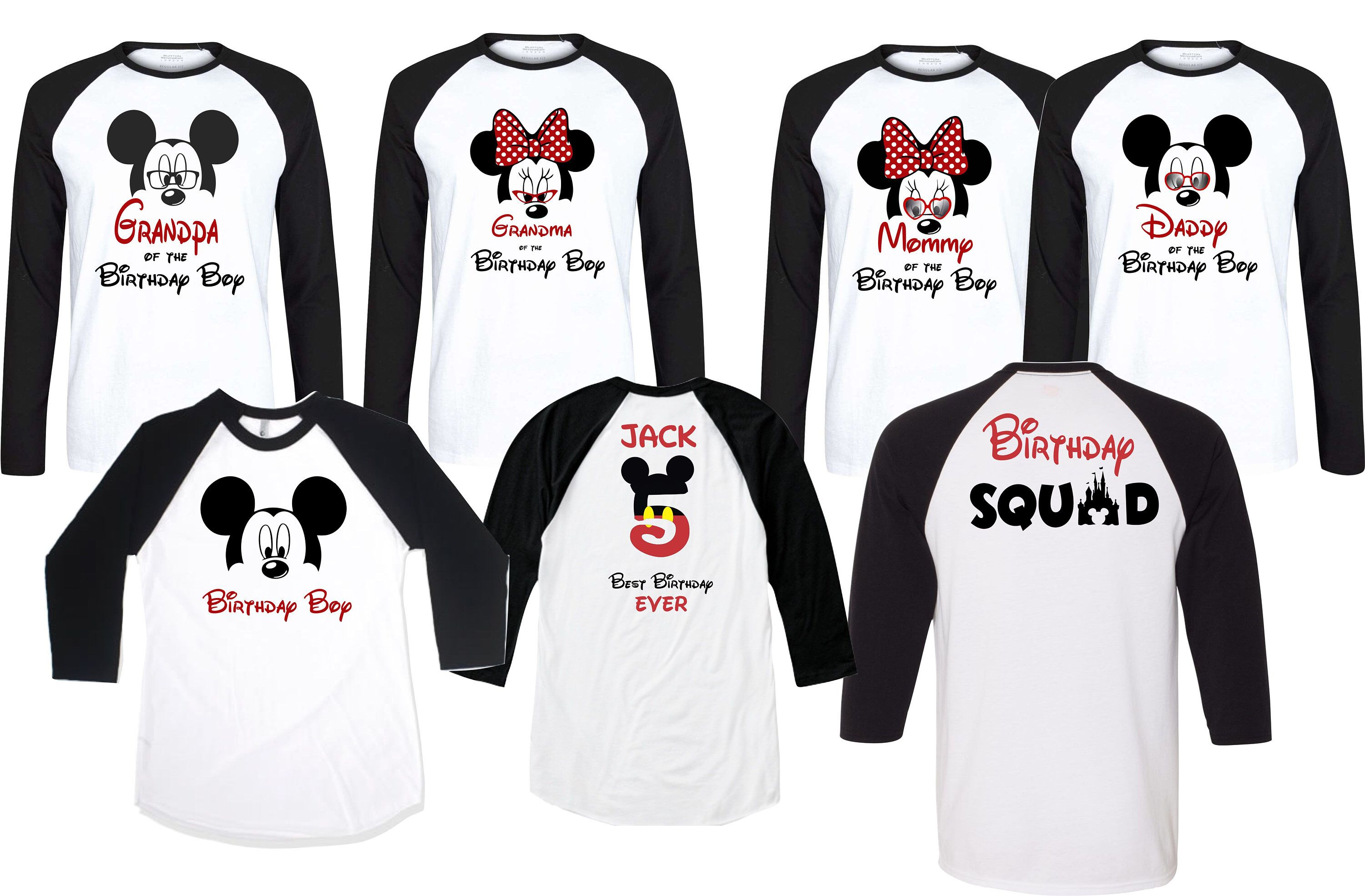 Personalized Disney Mickey and Pals T-Shirt