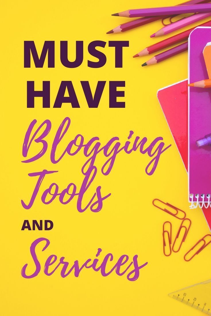 Must Have Blog Tools and Services I Have Been Using to Make Sure I Have a Successful Blog. Find the Top Blogging Resources and Tips for Services that All Bloggers Should Have as Blog Essentials going into 2020. | #MustHaveBlogTools #ProBloggerTools #TopBloggingTools #successfulBlogs #BlogEssentials