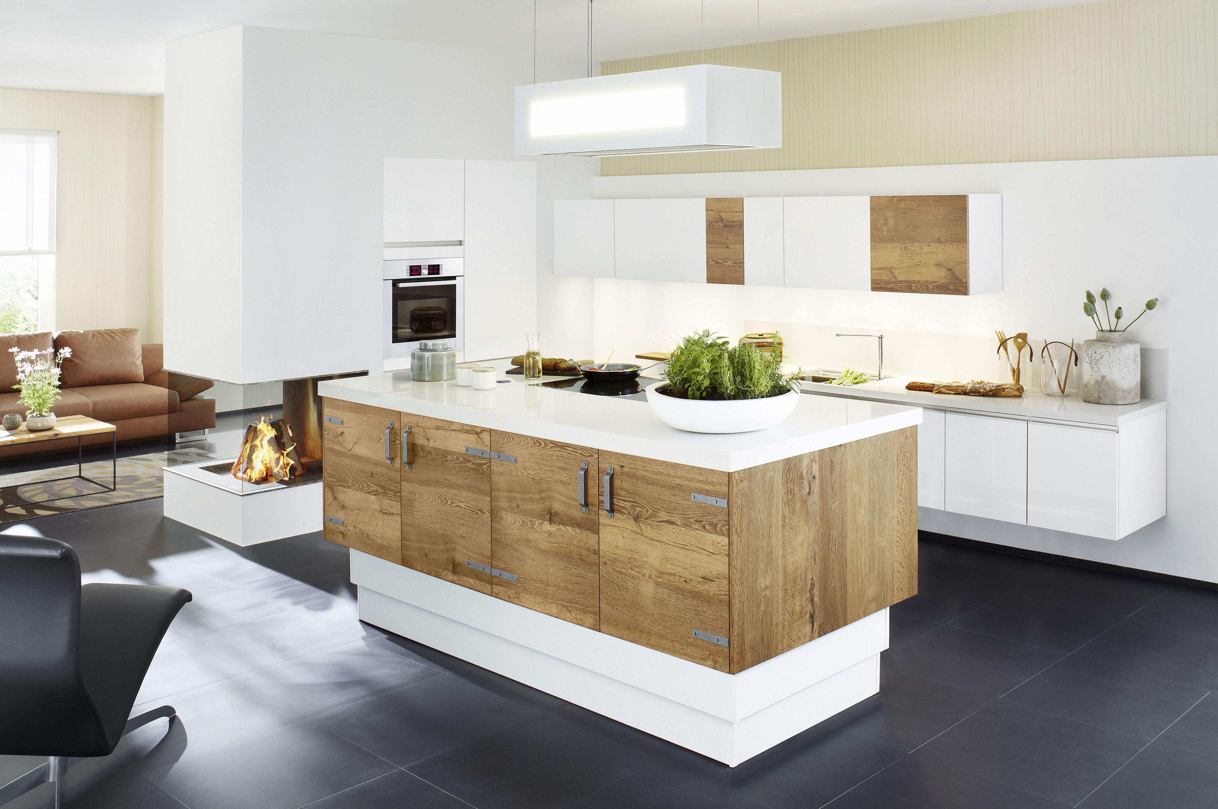 Farbgestaltung in der Küche: Drei Farben sind genug | Pinterest ...