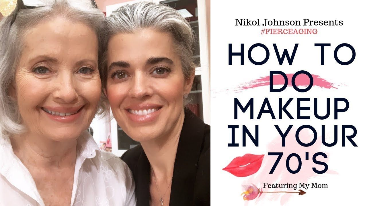 HOW TO DO YOUR MAKEUP IN YOUR 70'S FEATURING MY MOM