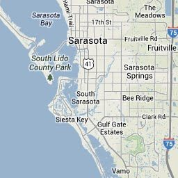 Florida Rails To Trails Map.Legacy Trail Sarasota To Venice Rail Trail Map About 1 Mile