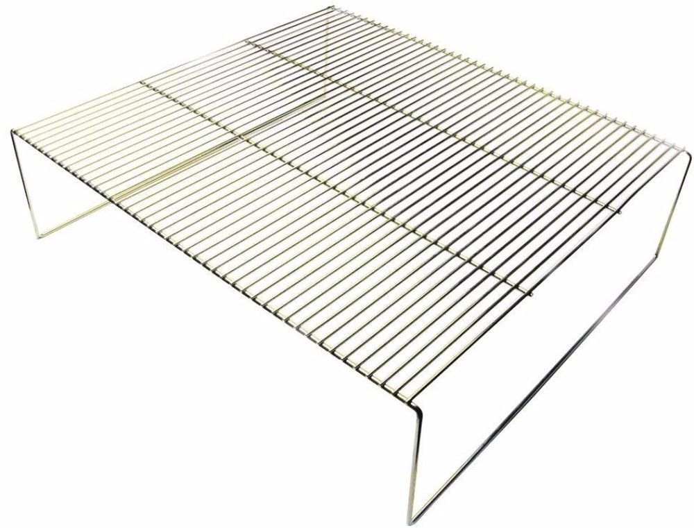 grill rack for charcoal grill or resting rack 880 in sq space chrome steel lacajachina grillrack restinggrillrack bbqgril chrome la caja china steel