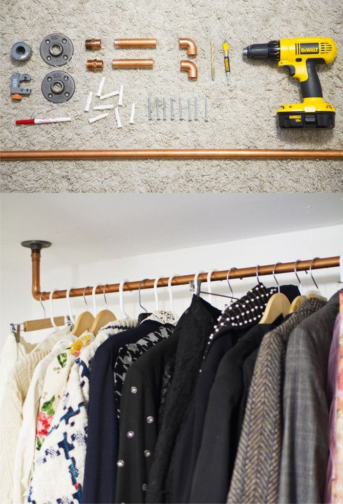 Ampli Tie Una Ingeniosa Corbata Interiors Pipe Closet Closet