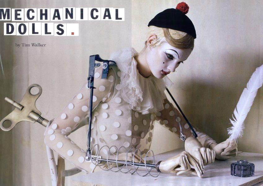 Fantasy Mechanical Doll Art