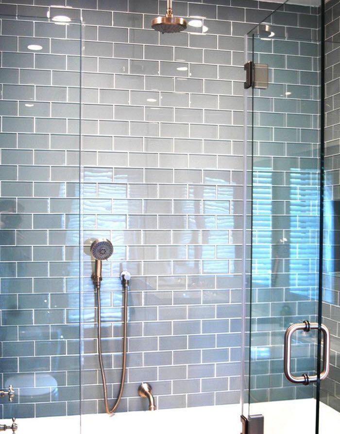 35 blue grey bathroom tiles ideas and pictures Fliser Pinterest