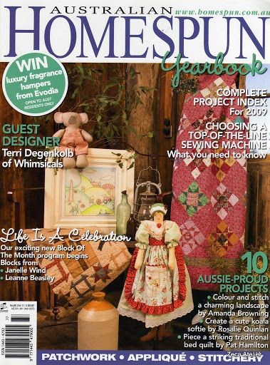 homespun 00 - Zecatelier - Picasa Web Albums...projects,patterns and instructions!