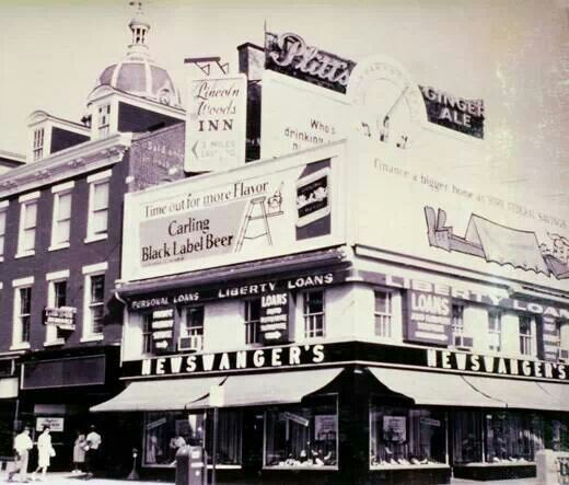 Newswanger's Shoe Store 1955 | York Businesses in 2019