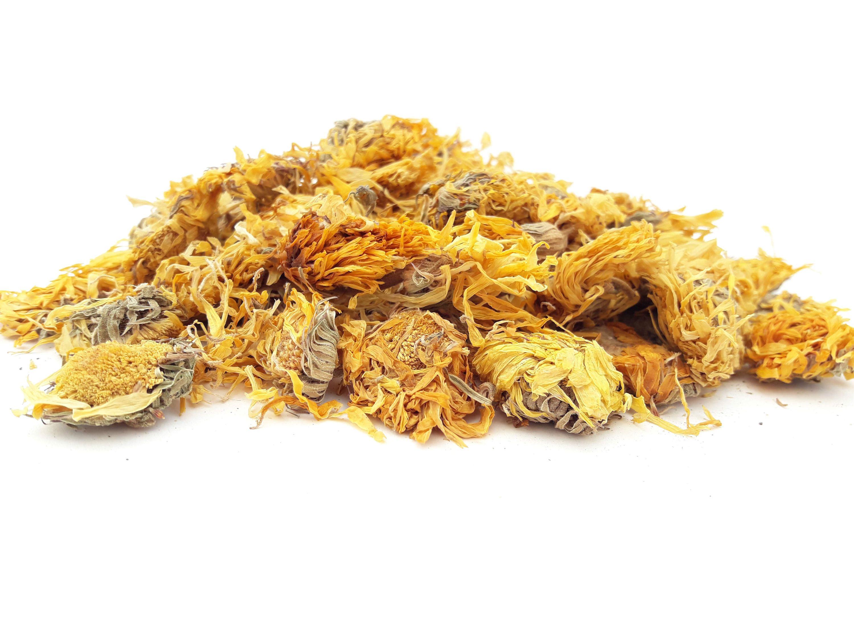 Dried Marigold Flowers, 5g 50g, Calendula Flowers, Tea