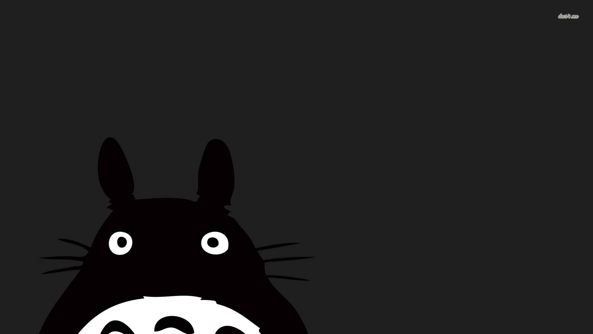My Neighbor Totoro, Dark, mysterious Totoro Wallpaper