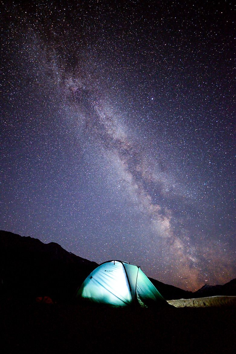 Camp Under Milky Way Trip Camping And Hiking Camping Experience