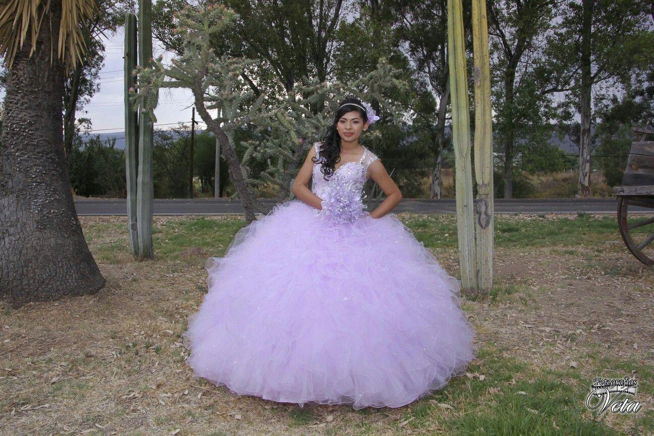 Vestido de xv años color morado lila | vestido de xv | Pinterest ...