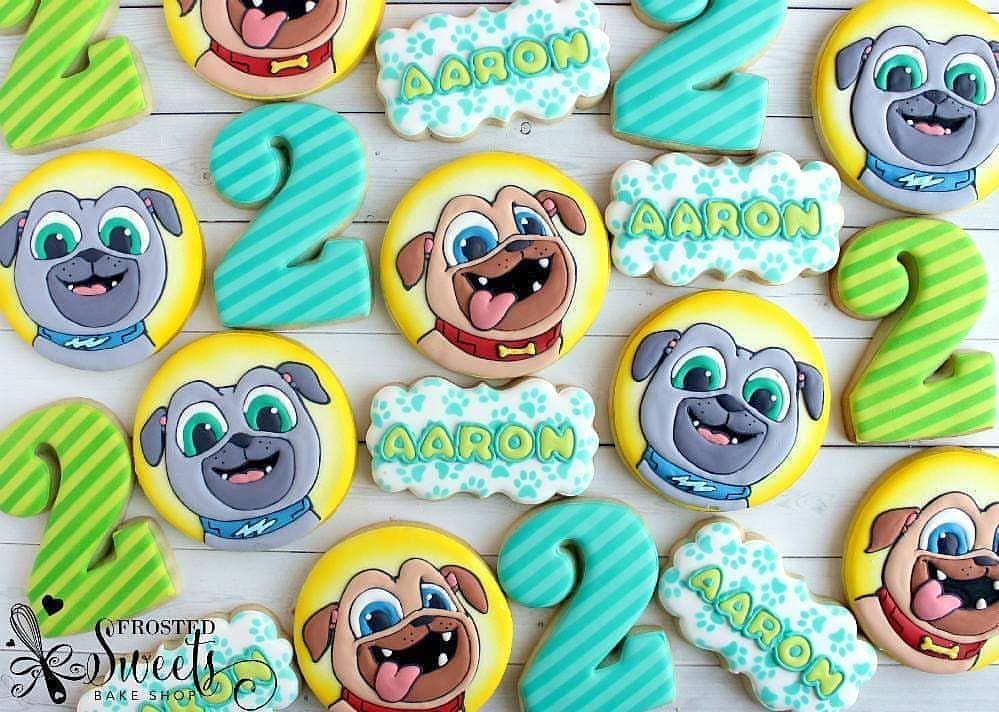 Bow To The Wow It S Puppy Dog Pals Puppydogpalscookies