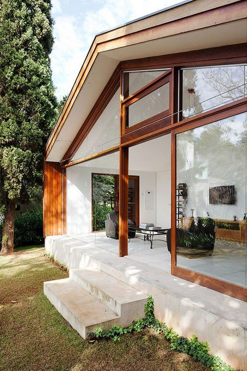 An Entry From Quite Continental House Exterior Architecture House House