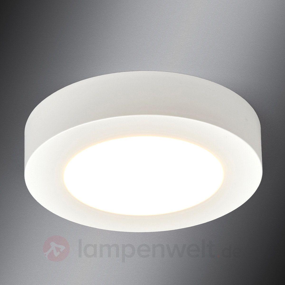 Runde Led Deckenlampe Esra Furs Badezimmer Kaufen Deckenlampe Led Deckenlampen Und Led
