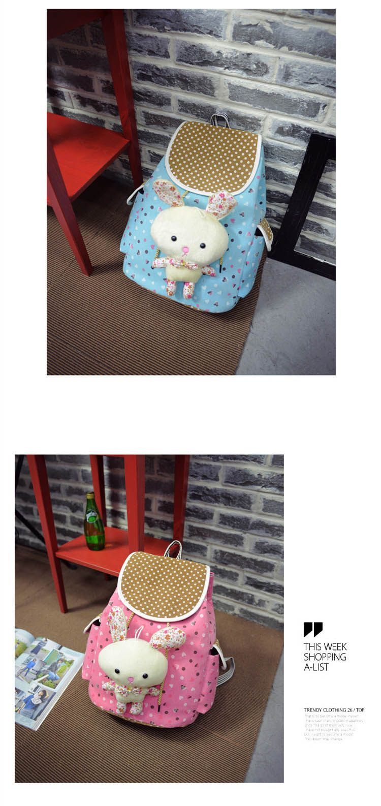 549f1c2d3c DT Lovely Floral School Backpack for Girls