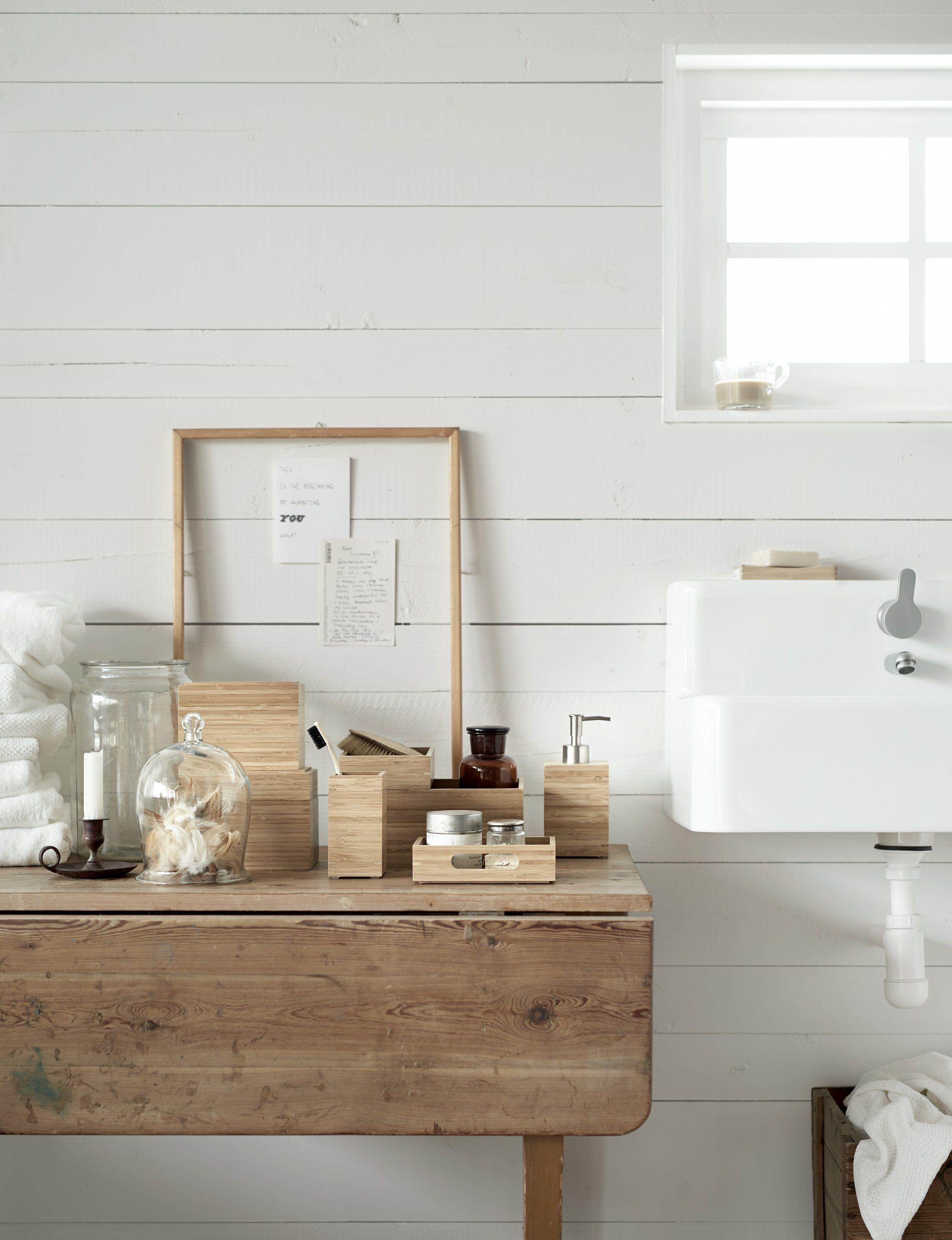 dragan collectie | #ikea #ikeanl #badkamer #accessoires #bamboe, Badkamer