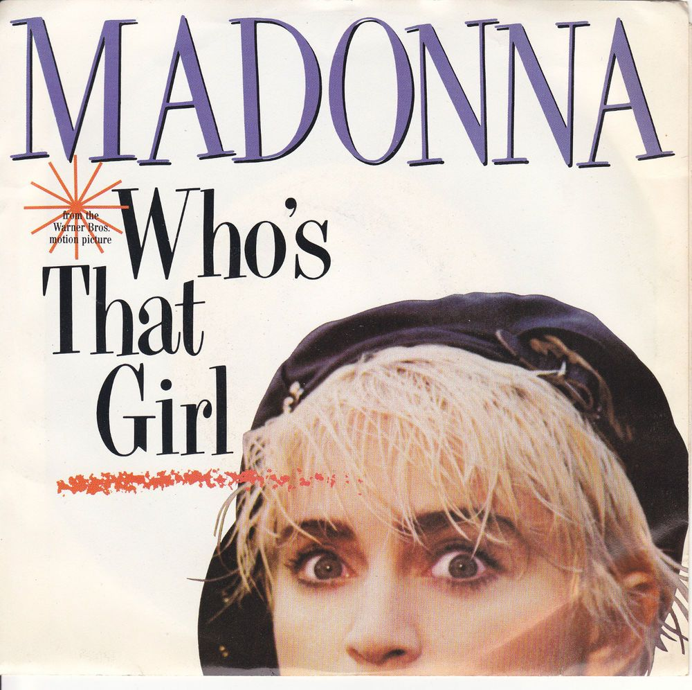 Madonna Who S That Girl White Heat 7 Vinyl 45 Rpm Jukebox