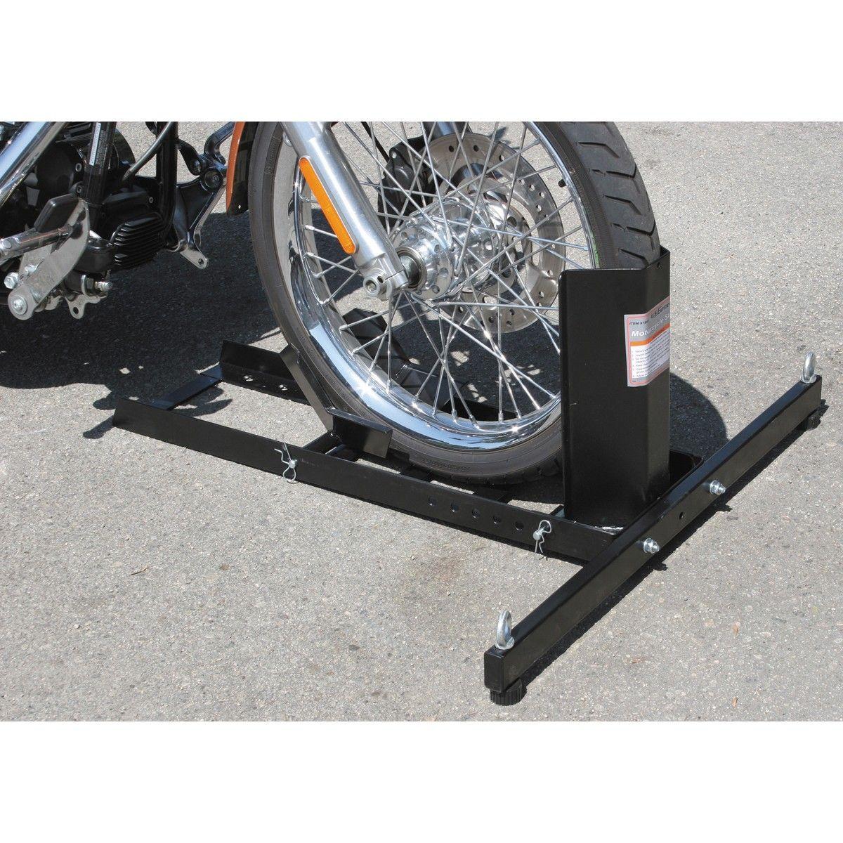 1800 Lb Capacity Motorcycle Stand Wheel Chock Motorcycle Wheels Bike Motorcycle
