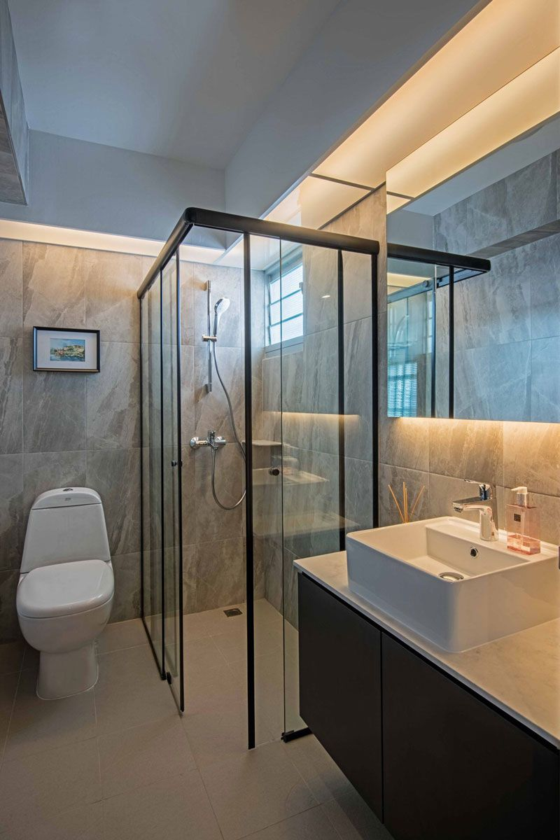 How To Design Your Hdb Flat For Hosting And Entertaining Singapore Style Interior Design Toilet Bathroom Design Luxury Singapore Bathroom Design