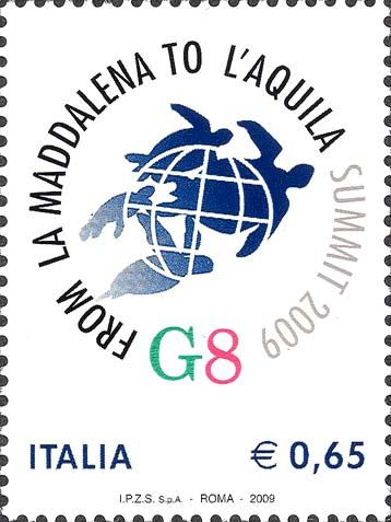 2009 - Vertice del G8 a L'Aquila  - Logo del vertice G8