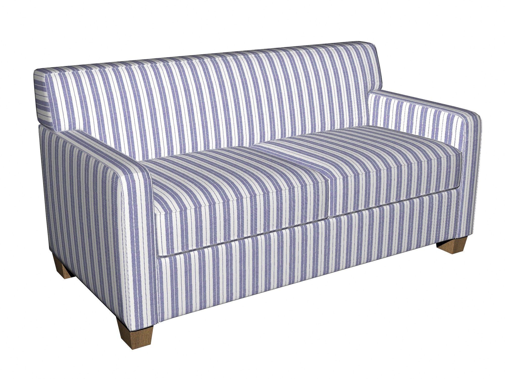 Blue And White Striped Sofa Bed Shapeyourminds Com