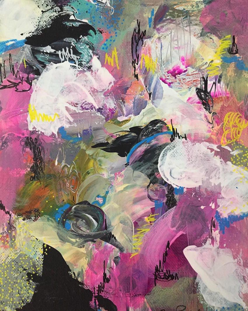 14 abstract painters to follow on instagram design