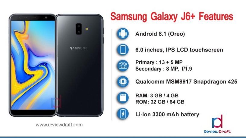Samsung Galaxy J6 Plus Price In Bangladesh Specification Review Draft Samsung Galaxy Samsung Samsung Mobile