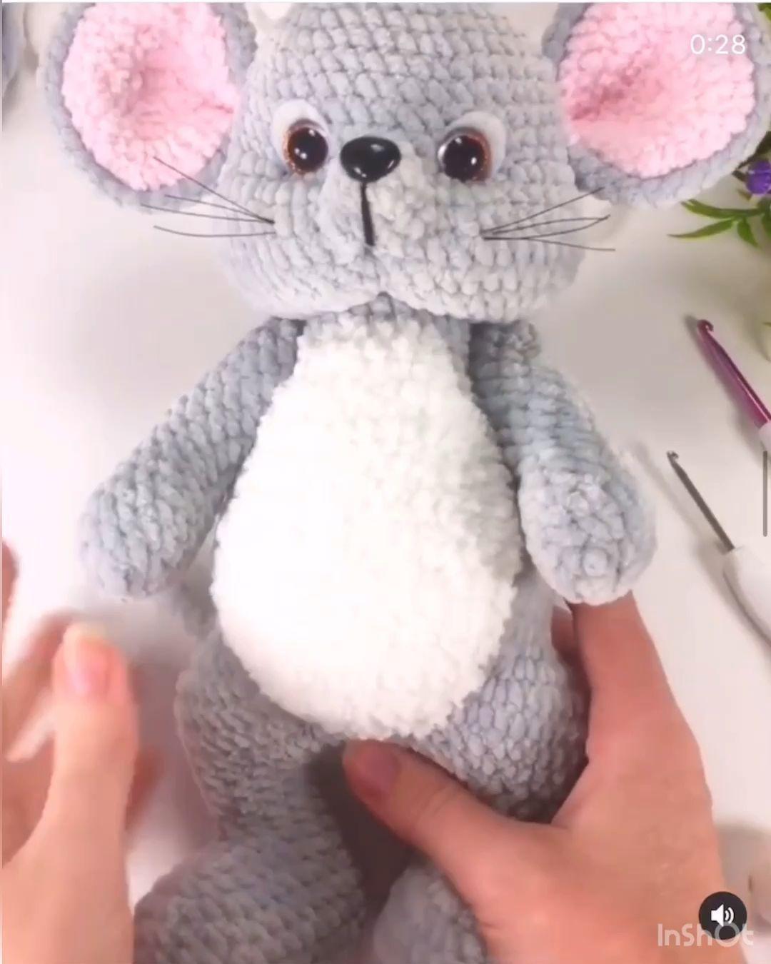 Miniature Yorkshire Terrier - Crochet Dog - Micro Amigurumi ... | 1350x1080