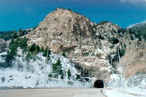 NORAD Colorado Springs. Went on a tour of it and it's