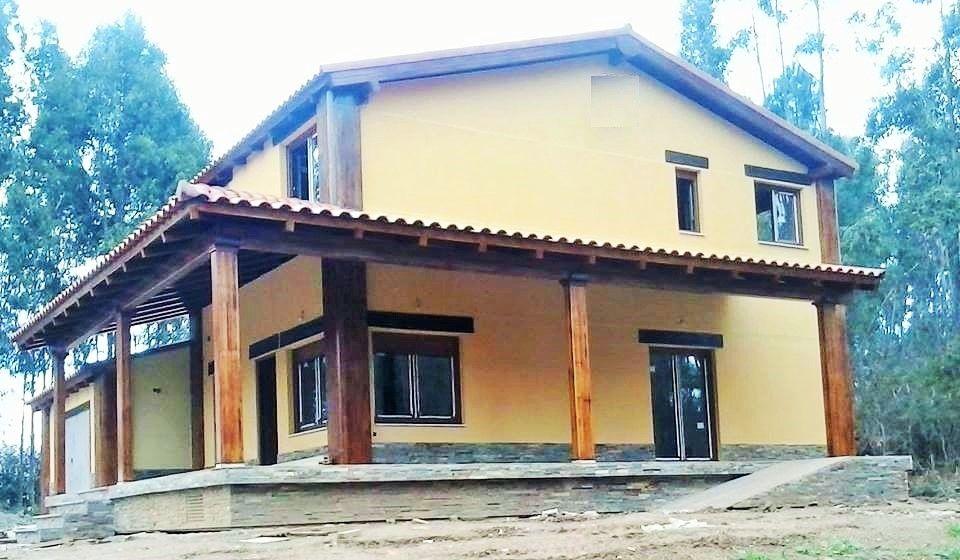 Casa prefabricada de hormigon exterior monocapa con - Casas de acero prefabricadas ...