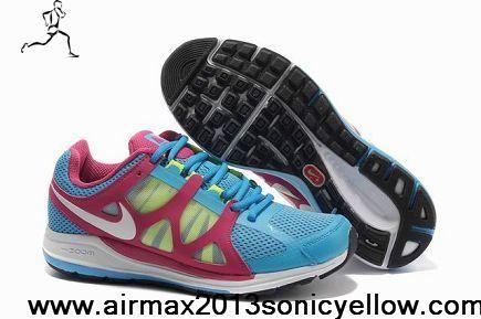 premium selection ab088 b58f7 Sale Cheap Women Soar White-Pink-Volt Nike Zoom Elite 5 Fashion Shoes Shop