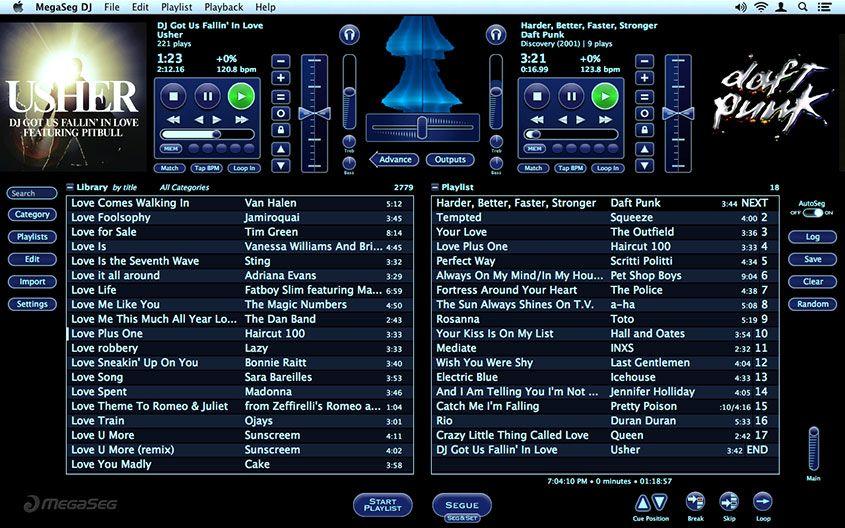 MegaSeg - Products - DJ Software for Mac | DJ | Dj gear