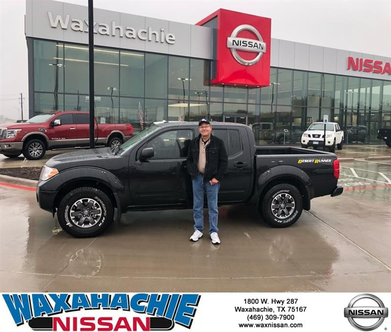 Congratulations Mark on your Nissan Frontier from