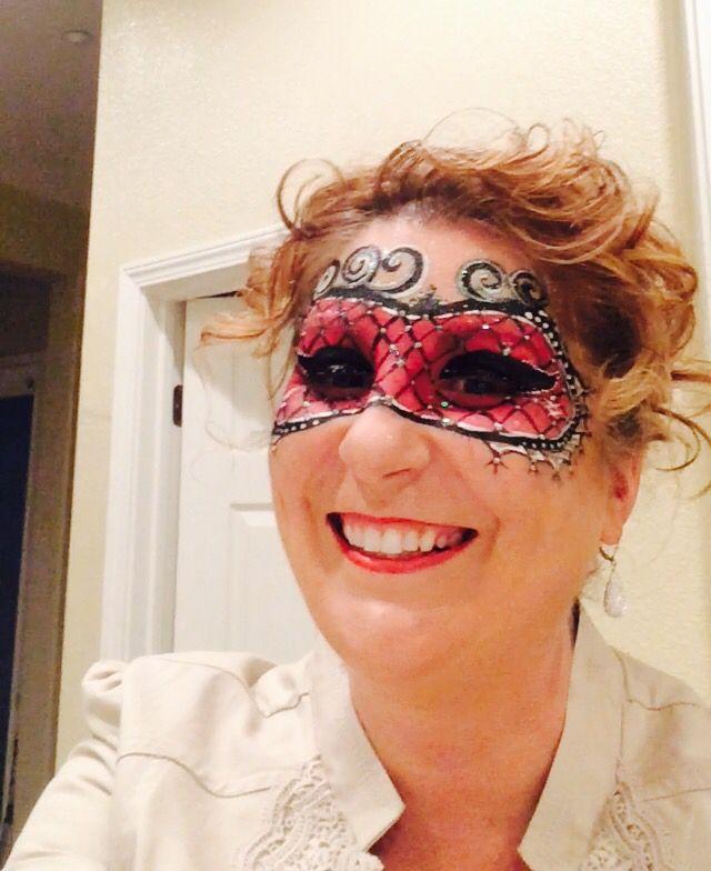 Mardi Gras mask  #colorfulfacepainting  EastBay NorCal
