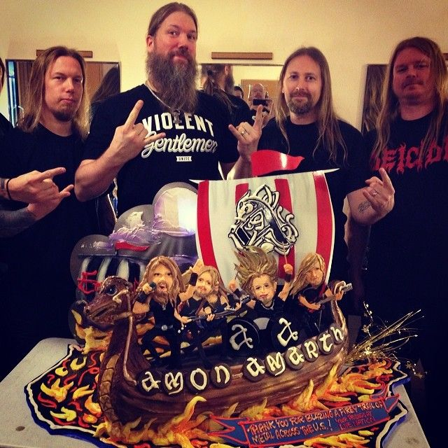 Amon Amarth Takes The Cake! \m/