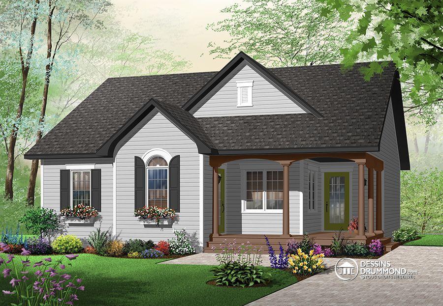 Détail du plan de Maison unifamiliale W3118 House plans