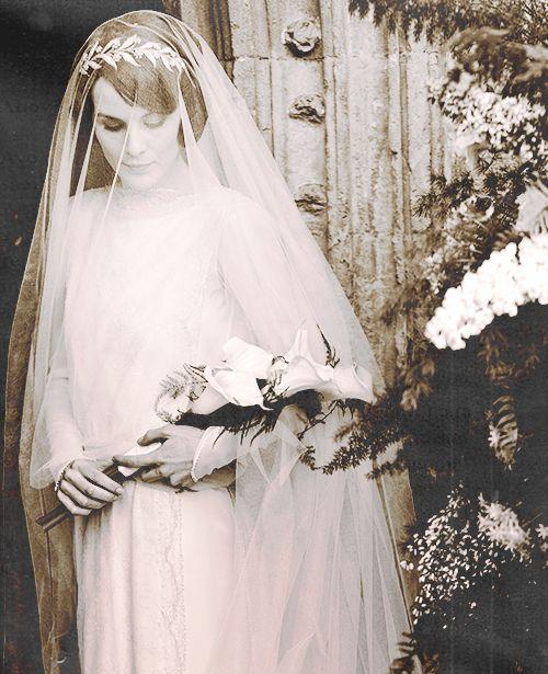 Matthew & Mary's Wedding  - downton-abbey Photo