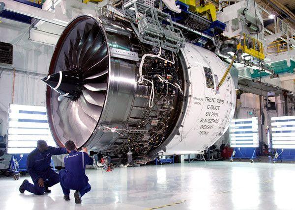 Motor a reacción Trent XWB | Aviones | Pinterest | Motor, Avión y De ...