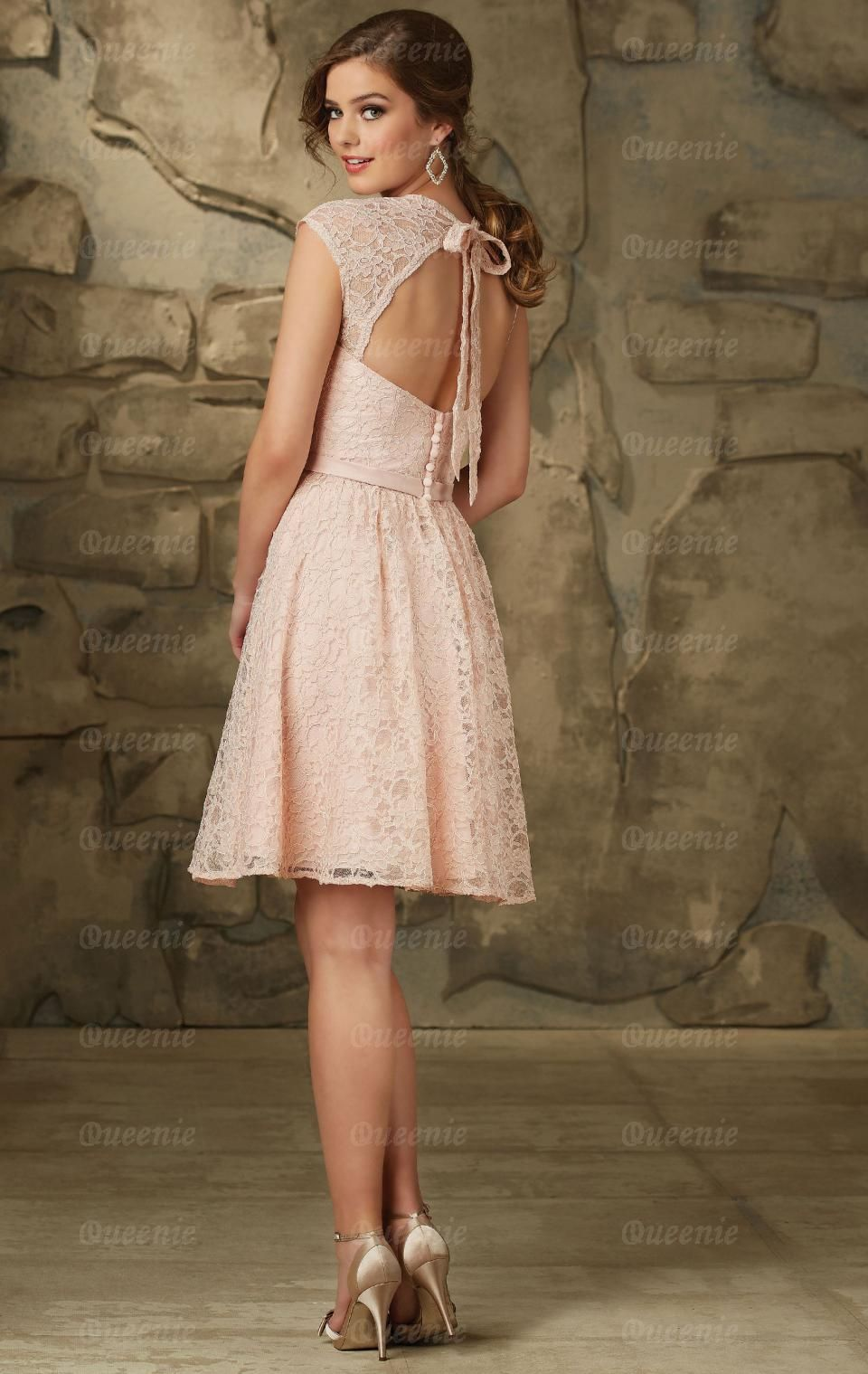 Sale Blush Bridesmaid Dress BNNCG0009-Bridesmaid UK | Wedding ...