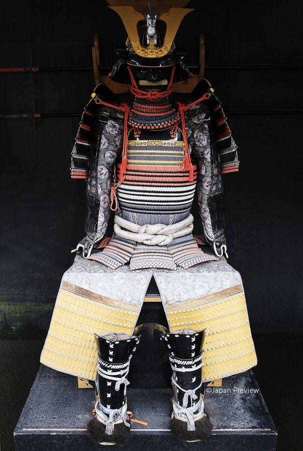 鎧、仙巌園、鹿児島 Samurai Armour, Sengan-en Garden, Kagoshima