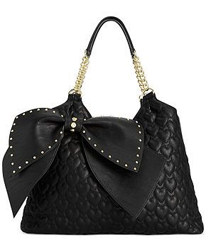 d1b335128e20 Betsey Johnson Big Bow Tote - Sale   Clearance - Handbags   Accessories -  Macy s