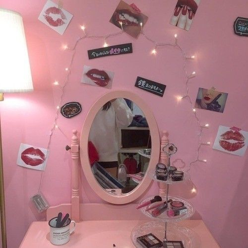 Lillpsycho Aesthetic Bedroom Pink Room Pink Aesthetic