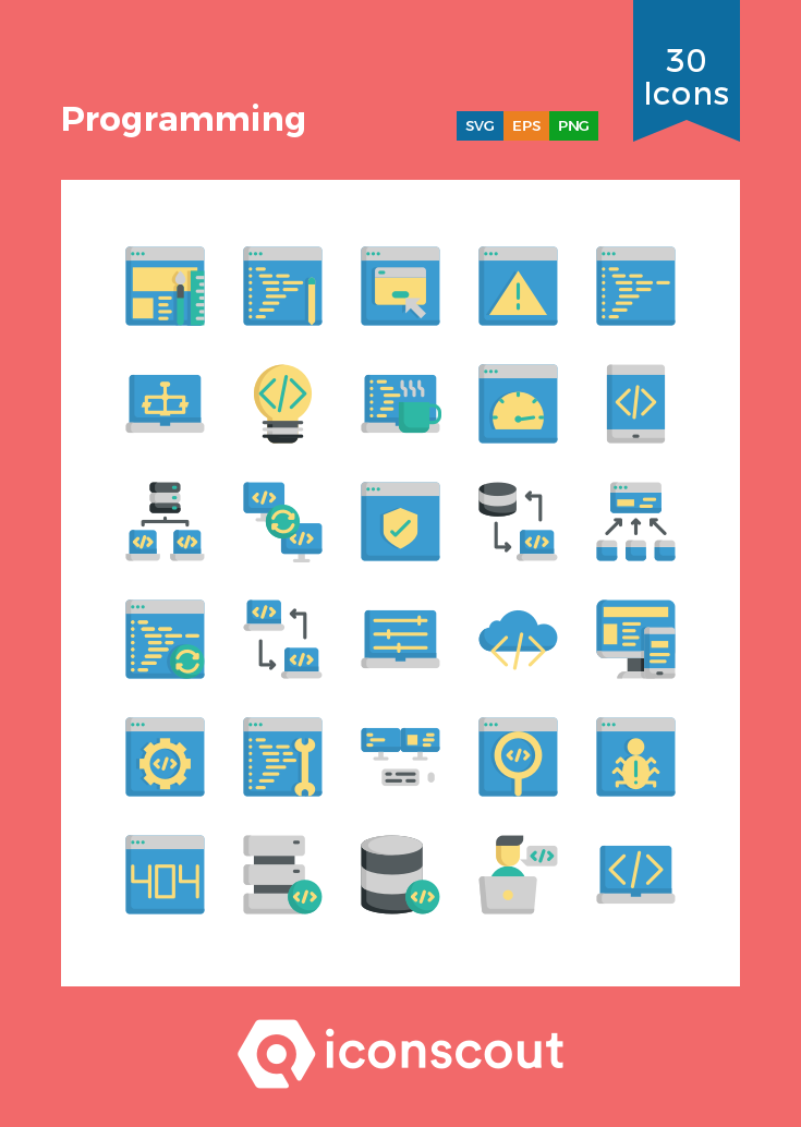 Download Programming Icon Pack Available In Svg Png Eps Ai Icon Fonts Icon Pack Program Icon Flat Icon