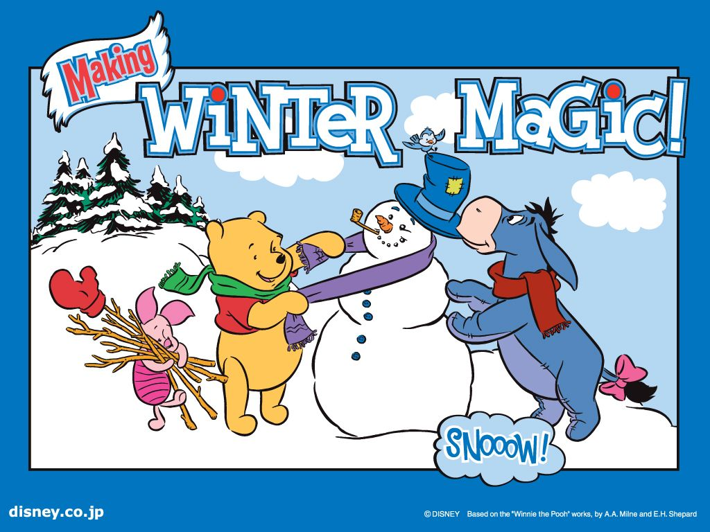 Disney winter wallpaper free disney winnie the pooh friends winter disney winter wallpaper free disney winnie the pooh friends winter season greeting wallpaper voltagebd Gallery